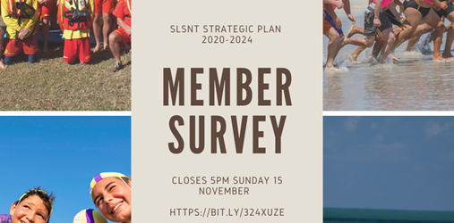 Member Survey - Surf Life Saving Northern Territory